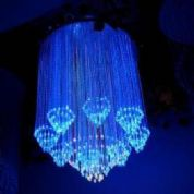 Fibre Optic chandelier - SHOWER